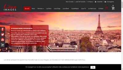 Site internet de Lotelco Loca Images