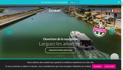 Site internet de Locaboat