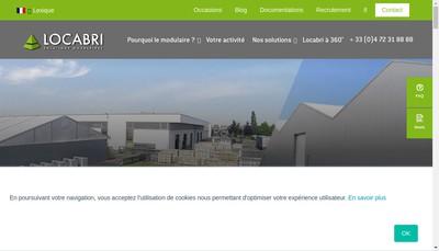 Site internet de Locabri