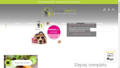 Site internet de Cote Primeurs