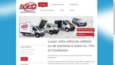 Site internet de Loca