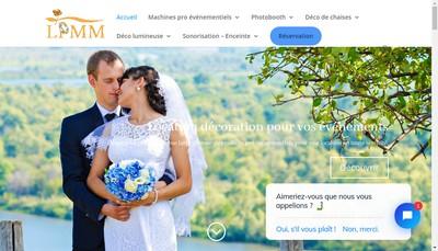 Site internet de Location pour Mon Mariage Baby Event