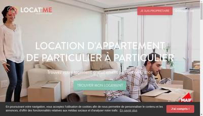 Site internet de Locatme
