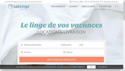 Site internet de Loclinge