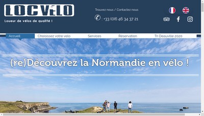 Site internet de Loc Velo