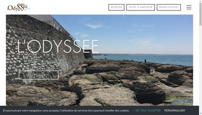 Site internet de Restaurant la Gainee