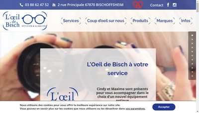 Site internet de L'Oeil de Bisch