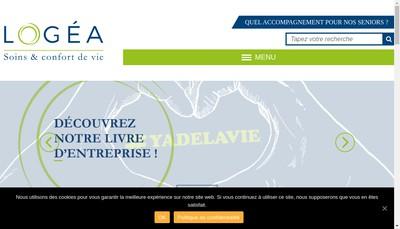 Site internet de Logea