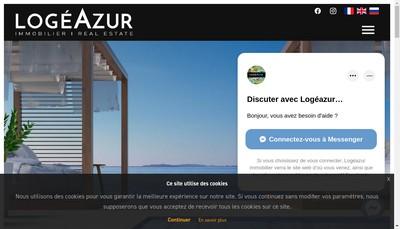 Site internet de Logeazur