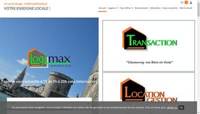Site internet de Logimax