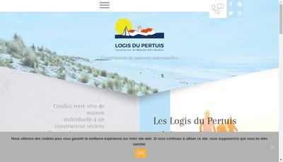 Site internet de Les Demeures de la Cote d'Argent - Maiso