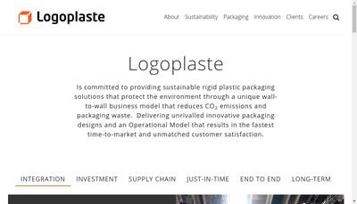 Site internet de Logoplaste France