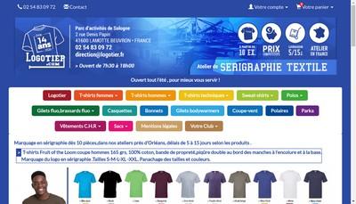 Site internet de Logotier