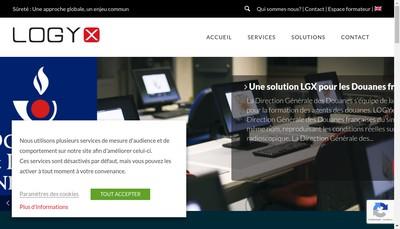 Site internet de Logyx