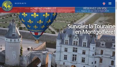 Site internet de Touraine Terre d'Envol