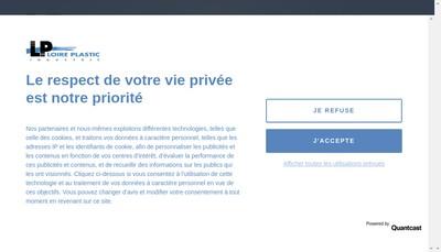 Site internet de Loire Plastic Industrie