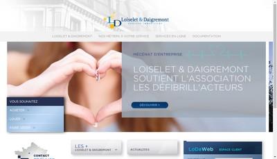 Site internet de Loiselet et Daigremont