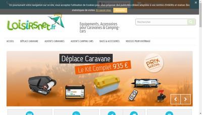 Site internet de Caravan'Service