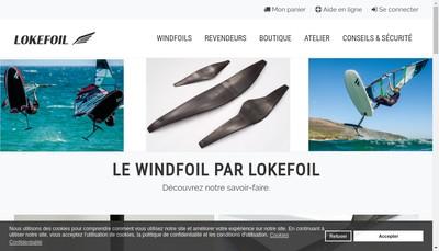 Site internet de Loke Composite