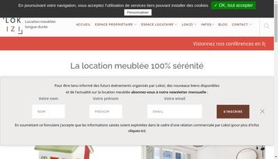 Site internet de Lokizi