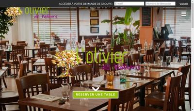 Site internet de L'Olivier