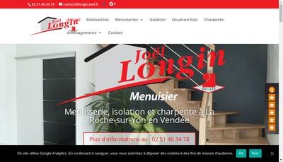 Site internet de Longin Joel