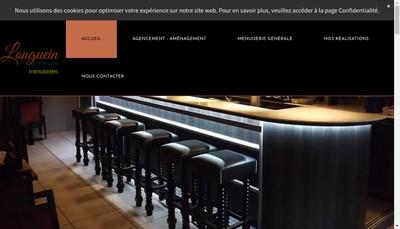 Site internet de SARL Longuein