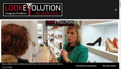 Site internet de Look Evolution