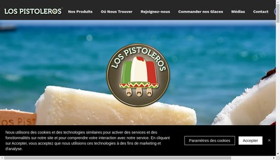 Site internet de Pistoleros
