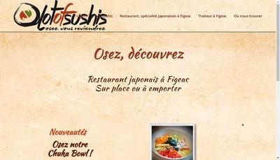 Site internet de Lot Of Sushis