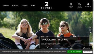 Site internet de Loubsol