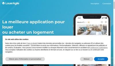 Site internet de Loueragile