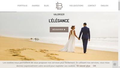 Site internet de Louis Brunet Photography