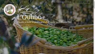 Site internet de Les Delices de l'Oulibo