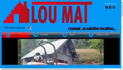 Site internet de Loumat