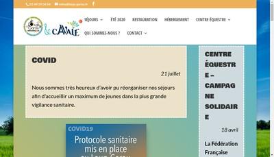 Site internet de Le Loup Garou SARL