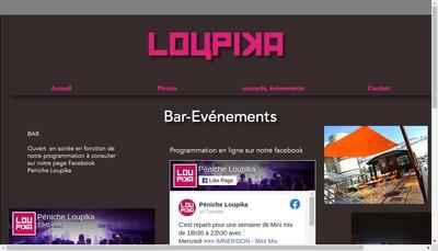 Site internet de Loupika
