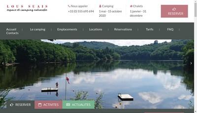 Site internet de Lous Suais