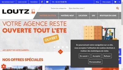 Site internet de Btp Max