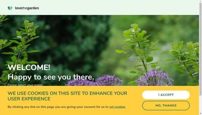 Site internet de Evergreen Garden Care France SAS