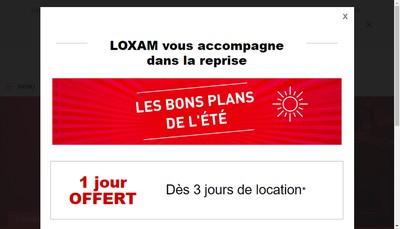 Site internet de Loxam