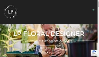 Site internet de Lp Floral Designer