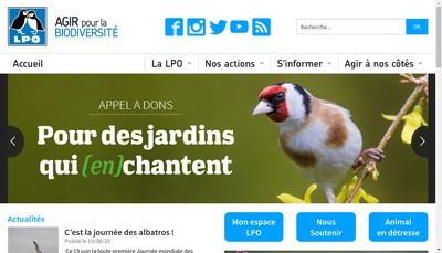 Site internet de Lpo-Birdlife