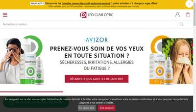 Site internet de Laboratoire de Protheses Occulaires Lpo