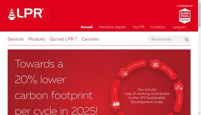 Site internet de LPR