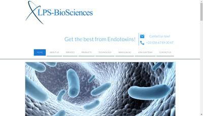 Site internet de Lps-Biosciences