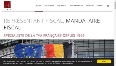 Site internet de La Representation Fiscale