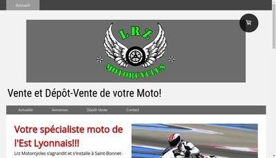 Site internet de Lrz Motorcycles