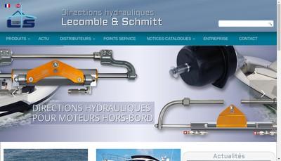 Site internet de Pompes Ls