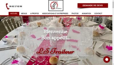 Site internet de LS Traiteur